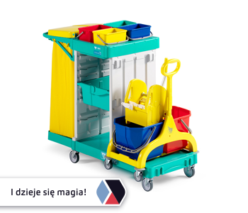 Wózki Magic reklamują Twoją firmę!