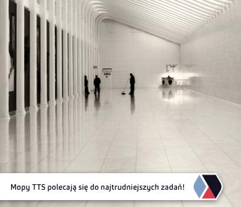Mopy marki TTS – idealne dla każdej powierzchni